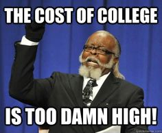 Is the cost of college too high essay