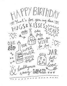 Happy Birthday Wishes In Different Fonts Inspirational Happy Birthday Calligraphy Style Hand Lettering Happy Birthday 18th, 18th Birthday Cards, Birthday Cards For Friends, Best Birthday Wishes, Bday Cards, Birthday Messages, Birthday Greetings, Happy Birthday Dear Friend, Birthday Presents