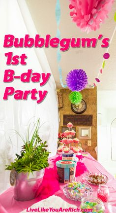 A birthday party under $100. It was affordable, cute (although perhaps not entirely 'Pinterest' worthy), and we all really enjoyed ourselves.  #LiveLikeYouAreRich