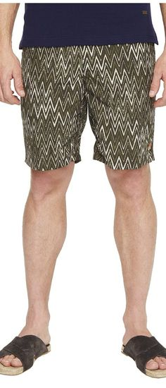Missoni Mare Printed Nylon Bicolor Zigzag Swim Trunks (Green) Men's Swimwear - Missoni, Mare Printed Nylon Bicolor Zigzag Swim Trunks, 534031-6231, Apparel Bottom Swimwear, Swimwear, Bottom, Apparel, Clothes Clothing, Gift, - Street Fashion And Style Ideas