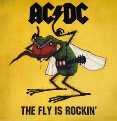 Cool artwork off the fan can, they werelike and ow are like lookin back I should have got was it official? Rock And Roll Bands, Rock N Roll, Heavy Metal Music, Heavy Metal Rock, Ac Dc, Rock Band Posters, Woodstock, Vintage Music Posters, Fly On The Wall
