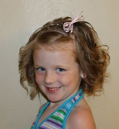 little girls short hair braid and twist with ribbons http://instagram.com/sparklysodastyle