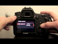 Canon 6D Menu Walkthrough & Setup - YouTube- Very thorough!
