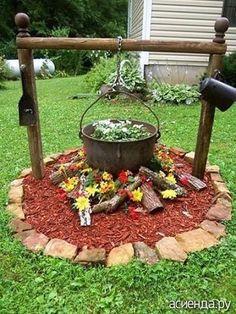 И я нашла несколько интересных идей для сада: Группа Обустройство и украшение дачного участка