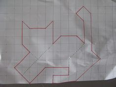 Sew Block Quilt Very basic and simple to cut cat pattern to complete Nestled Cats quilt. See my pinned quilt in this same category. Quilting Tips, Quilting Projects, Quilting Designs, Cat Quilt Patterns, Patchwork Patterns, Loom Patterns, Paper Piecing, Animal Quilts, Cat Pattern