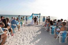 Visitor photo: A beach at the Sunset Beach House in Treasure Island, FL Florida Vacation, Florida Beaches, Treasure Island Beach, Wedding Reception, Wedding Ideas, Anna Maria Island, Sunset Beach, Simple Weddings, Beach House