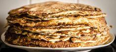 Whole Grain Pancakes Dieta Vegan, Whole Grain Pancakes, Kefir, Apple Pie, Nutella, Paleo, Breakfast, Ethnic Recipes, Food
