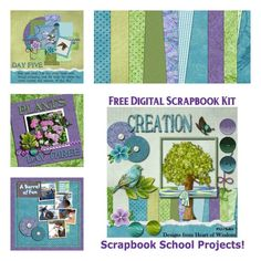 Free Digital Scrapbook Kit