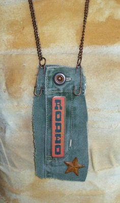 Sold - Now on Etsy At Louzart - Country Southwestern Rodeo Upcycled Asymmetrical by louzart, $28.00