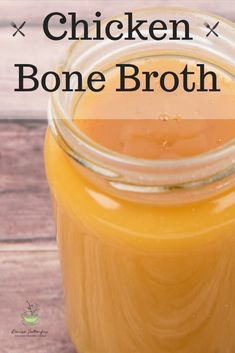 Bone broth is the nourishing gourmet's version of fast food. Use this simple recipe to make your homemade chicken bone broth. Clean Recipes, Whole Food Recipes, Healthy Recipes, Family Meal Planning, Family Meals, Chicken Bones, Pesto Recipe, Bone Broth, Healthy Habits