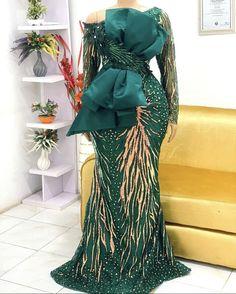 Cord Lace Styles, Lace Dress Styles, African Lace Dresses, African Dresses For Women, African Fashion Dresses, Black And Blue Dress, Nigerian Fashion, Latest Ankara, Lace Mermaid Wedding Dress