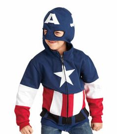 c1dac184f78a captain america super hoodie - Your superkid can cozy up in this awesome  hoodie. It