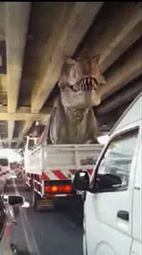 Moving a T-Rex