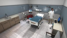 Medical and health care environments in Oculus Rift realtime 3D applications for training and visualization http://www.archvirtual.com