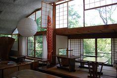 George Nakashima Studio. (Photograph, Paul Soulellis, August 9, 2008. flickr)