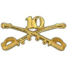 """U.S. Army 10th Cavalry Pin 2 1/4"""" by FindingKing. $11.99. This is a new U.S. Army 10th Cavalry Pin 2 1/4"""""""