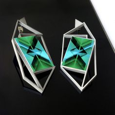 Visit our #Etsyshop and choose your favorite Gemini #Earring ;). Shop now: onti.cc/1Px33fo. | #Ontic