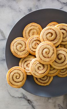 Cinnamon Swirl Cookies. For a cookie with cinnamon flavor from center to edge, we took an artful approach and spiraled a layer of cinnamon sugar into a butter cookie dough.