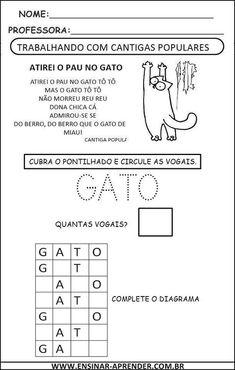 ATIREI O PAU NO GATO CANTIGA