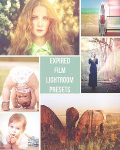 Expired Film  10 Retro Inspired Lightroom Presets by PresetsGalore, $5.00