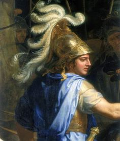 alexander the great paintings | Photograph:A painting showing Alexander the Great dressed for battle.