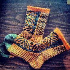 Ravelry: dyeingcolours' Frog Prince Socks