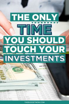 It might be tempting to withdraw investments, especially during times of economic uncertainty. However, most people should avoid touching their investments. #investments #investing via @thebudgetmom Retirement Savings, Investing For Retirement, Investing In Stocks, Investing Money, Financial Quotes, Dividend Investing, Managing Your Money, Budgeting Tips, Finance Tips