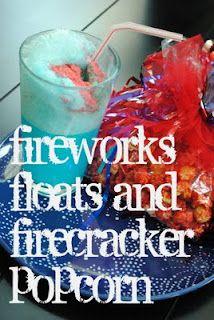Fireworks Floats and Firecracker Popcorn