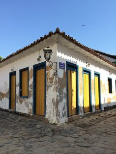 Paraty, Brazil — by Regia Barbosa. A masterpiece of colonial architeture, in Brazil!