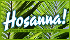 Sermon: Mark 11:1-11 – Hosanna: A Palm Sunday Plea | First Baptist ...