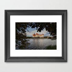 "Framed Art Print / Vector Black MINI (12"" x 10"") Originalaufnahme (originalaufnahme) Moritzburg Castle- 3 Nuts for Cinderella by Originalaufnahme $35.00"