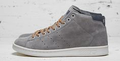 adidas Originals x Mark McNairy 84-Lab Stan Smith Mid Grey Suede
