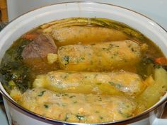 To je nápad! Ital Food, Cod Fish, Hungarian Recipes, Hungarian Food, Diy Food, Pasta Dishes, Soup Recipes, Side Dishes, Food And Drink
