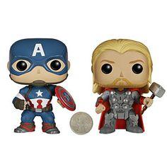 Avengers Age Of Ultron Vinyl POP Figures | ThinkGeek
