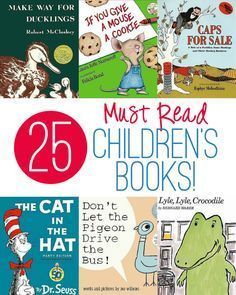 25 Books Every Children's Library Needs!! So many great ones I'd forgotten about.
