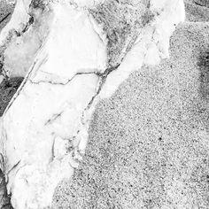 Natural slab - Greece #greece #b&w #nature #white #sand #beach #marble   Ph. Slobodan Antić