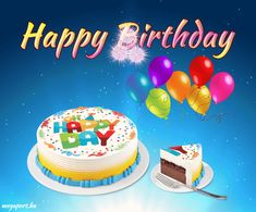 Birthday Wishes Gif, Happy Birthday Man, Happy Birthday Greetings, Birthday Cards For Men, Birthday Messages, Birthday Quotes, Birthday Cake, Animated Ecards, Animated Gifs