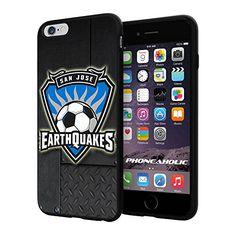 "Soccer MLS SAN JOSE EARTHQUAKES SOCCER CLUB FOOTBALL FC Logo, Cool iPhone 6 Plus (6+ , 5.5"") Smartphone Case Cover Collector iphone TPU Rubber Case Black Phoneaholic http://www.amazon.com/dp/B00WPMJ4NK/ref=cm_sw_r_pi_dp_OJSpvb10YRV0Z"