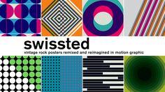 S-W-I-S-S-T-E-D / Rock posters remixed in motion graphics on Vimeo