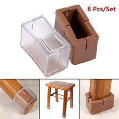 20X Heavy Felt Feet Pad Skid Glide Nail Protector Furniture Chair Table Leg FG
