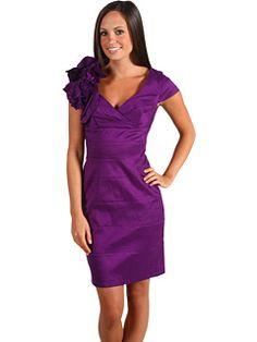 Jessica Simpson flower shoulder dress $60