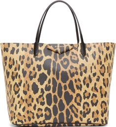 Get one of the hottest styles of the season! The Givenchy Antigona Large Leopard Print Tote Bag is a top 10 member favorite on Tradesy. Save on yours before they're sold out! Givenchy Tote Bag, Givenchy Antigona, Vegan Tote Bags, Leopard Tote, Purses And Bags, Women's Bags, Kate Spade Handbags, Shopper Bag, Printed Tote Bags