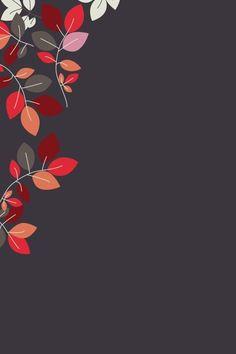 cinza com folhas