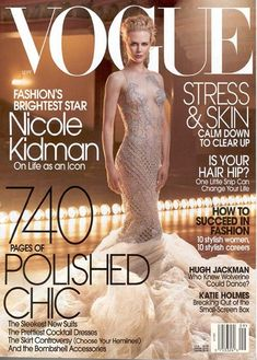Nicole Kidman - Vogue United States Magazine (September 2003)