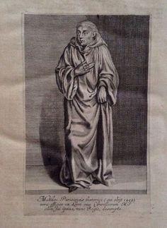 Rare 1644 Historia Maior Matthaei Paris Benedictine Monk St. Albans Latin