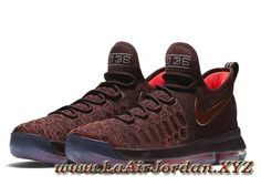 Nike KD 9 The XMAS 852409-696 Homme Basket Pas cher Bordeaux foncé/Cramoisi brillant/Bronze rouge-Sneaker Officiel Nike Air Jordan (Fr) | Laairjordan.xyz