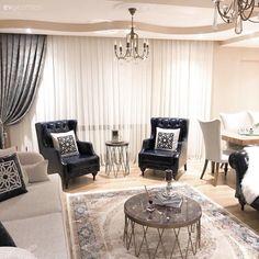 Carpet Models to Inspire Your Carpet Selection Room Photo - - Blue Living Room Decor, New Living Room, Royal Furniture, Classic Furniture, Sofa Design, Furniture Design, Interior Design, Starter Home, Luxury Sofa