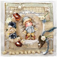 Lots Of Layers With Midweek Magnolias - Cards By Becky