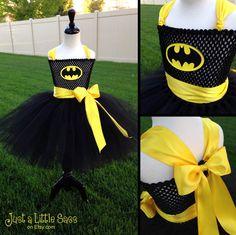 Ready to Ship Batman Tutu by JustaLittleSassShop