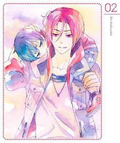 Free! Iwatobi Swim Club -Rin and Haru